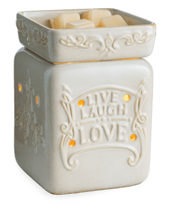 Live Laugh Love 2 Illumination Warmer