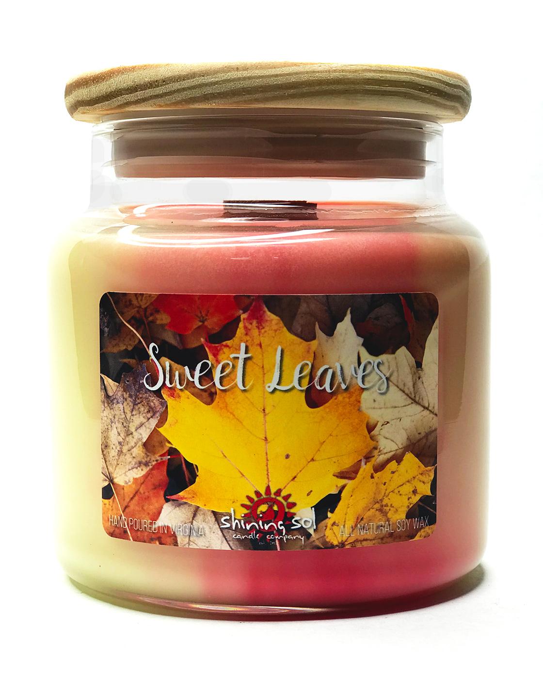 Sweet Leaves - Large Jar Candle