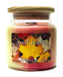 Sweet Leaves - Large Jar Candle