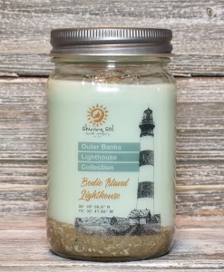 Bodie Island Lighthouse Candle