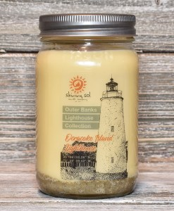 Ocracoke Island Lighthouse Candle