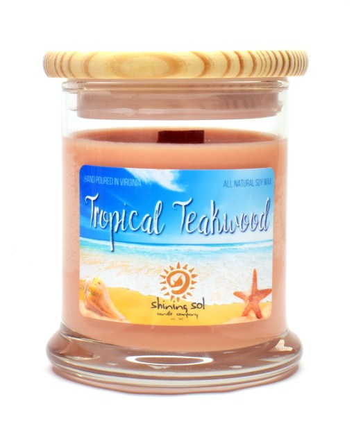 Tropical Teakwood - Medium Candle