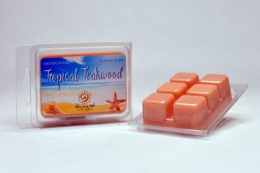 Tropical Teakwood - Wax Melt
