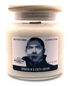 Dracula's Cozy Crypt - Large Jar Candle