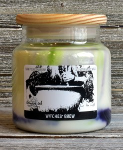 Halloween Witches' Brew Large Candle