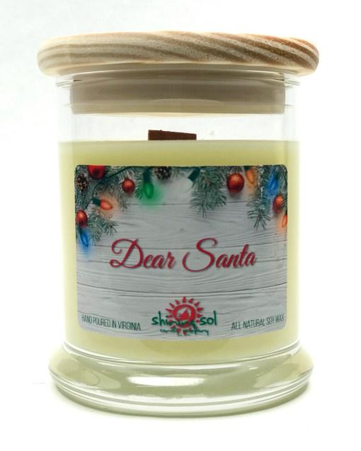 Dear Santa - Medium Jar Candle