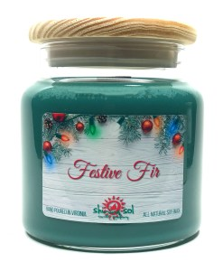 Festive Fir - Large Jar Candle