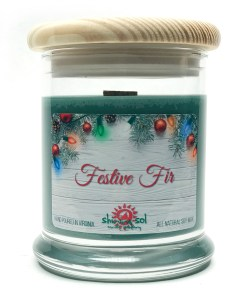Festive Fir - Medium Jar Candle