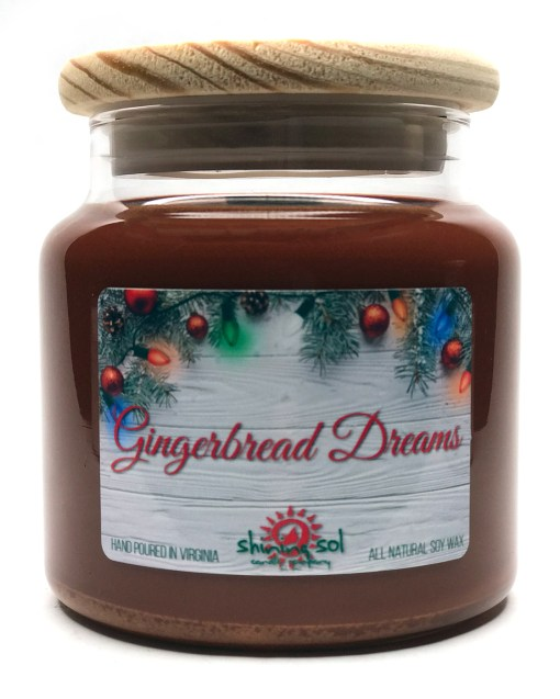 Gingerbread Dreams - Large Jar Candle