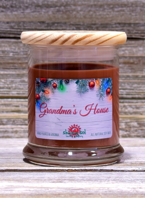 Grandma's House - Medium Candle