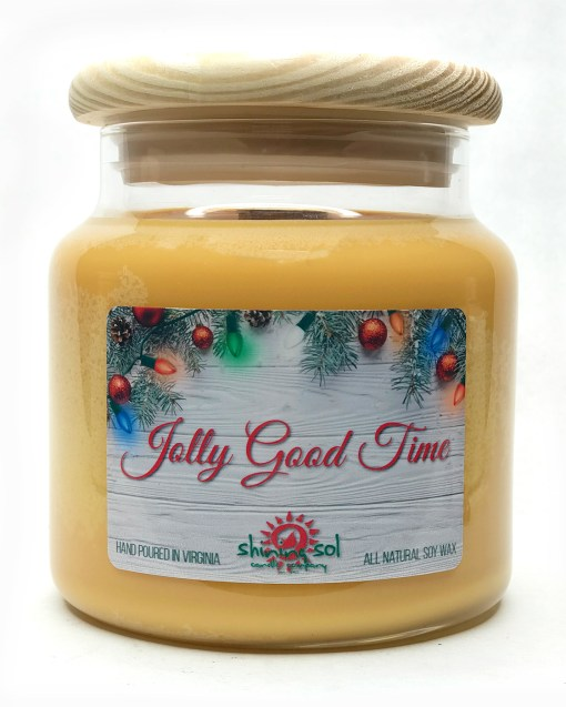 Jolly Good Time - Large Jar Candle