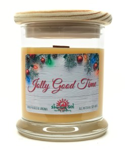 Jolly Good Time - Medium Jar Candle