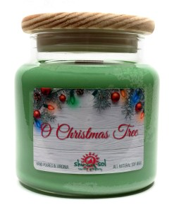 O Christmas Tree - Large Jar Candle