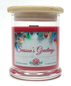 Season's Greetings - Medium Jar Candle