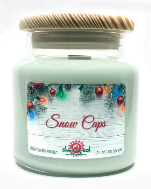 Snow Caps - Large Jar Candle