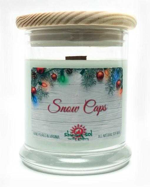 Snow Caps - Medium Jar Candle