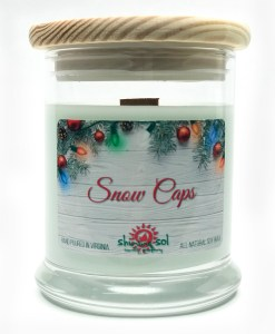 Snow Caps - Medium Jar Candle