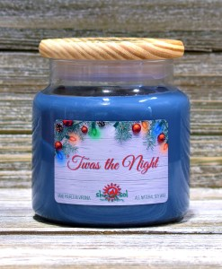 Twas the Night - Large Candle