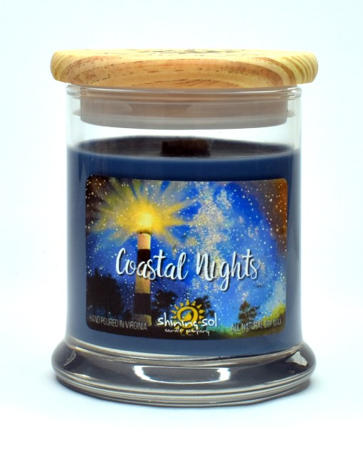 Coastal Nights - Medium Candle