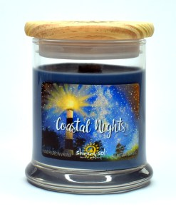 Coastal Nights - Medium Candle