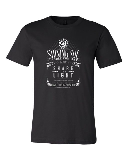 Shining Sol - Men's Whiskey Tee