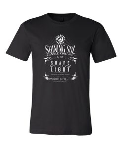 Shining Sol - Men's Whiskey Tee