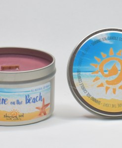 Bonfire on the Beach - Large Tin