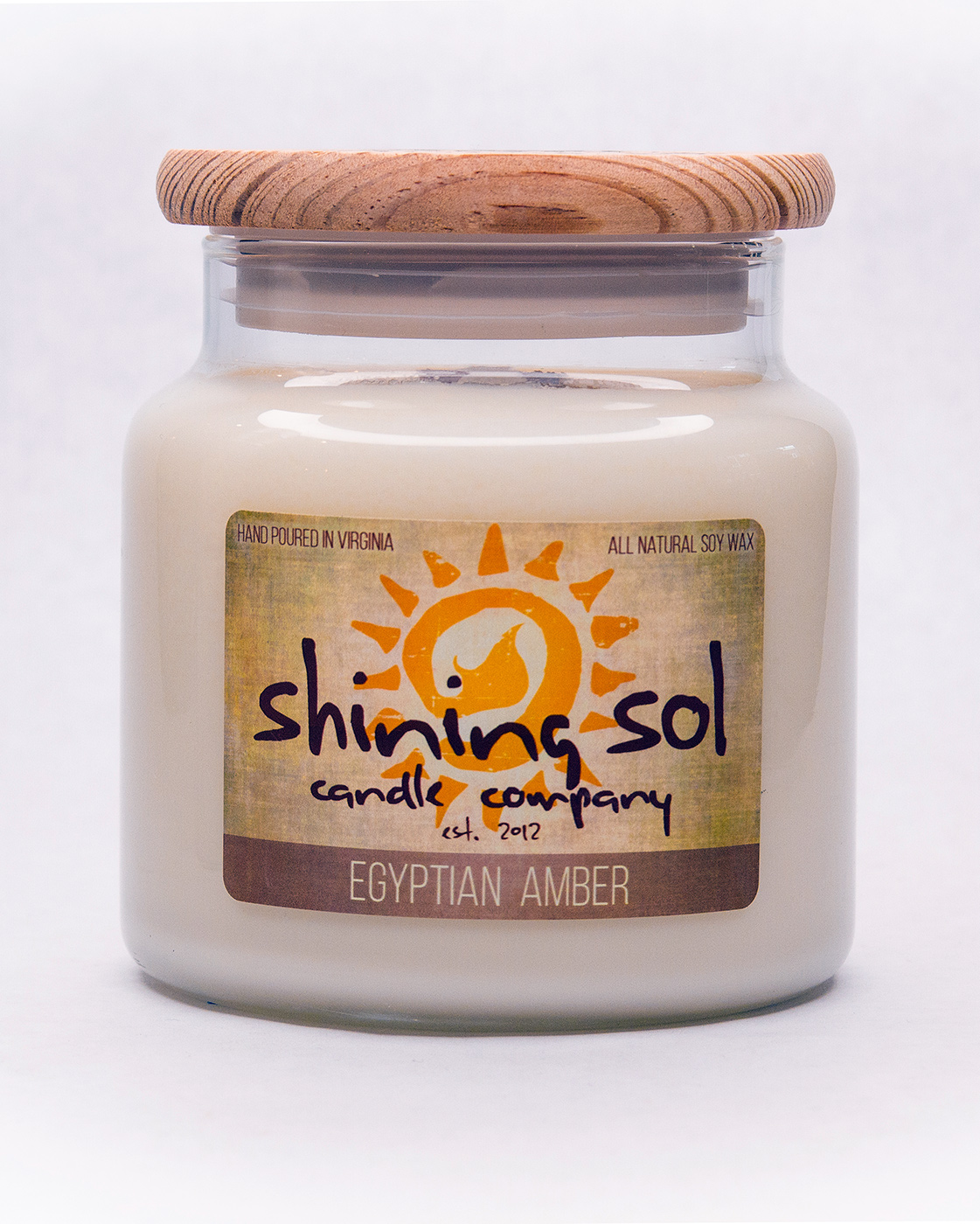 Egyptian Amber - Large Jar Candle