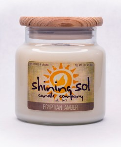 Egyptian Amber - Large Jar Candle