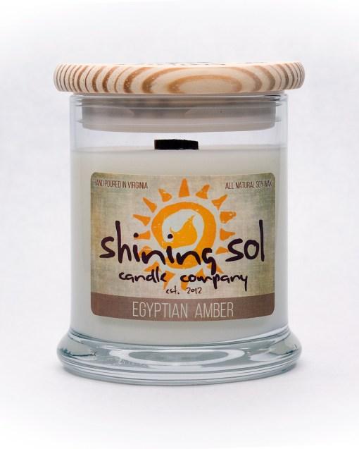 Egyptian Amber - Medium Jar Candle