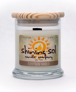 Egyptian Amber - Medium Jar Candle