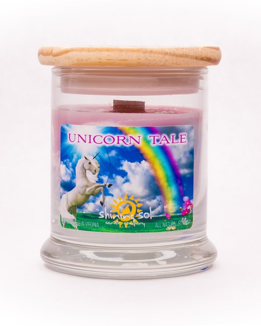 Unicorn Tale - Medium Jar Candle