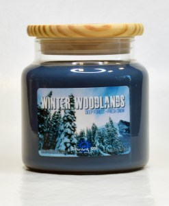 Winter Woodlands - Large Jar