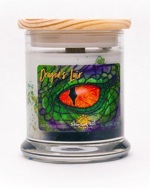 Dragon's Lair - Medium Jar Candle
