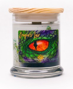 Dragon's Lair - Medium Jar Candle