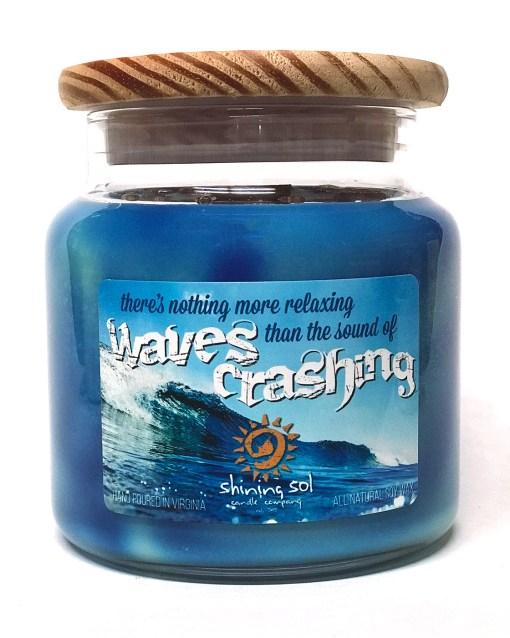 Waves Crashing - Large Jar Candle