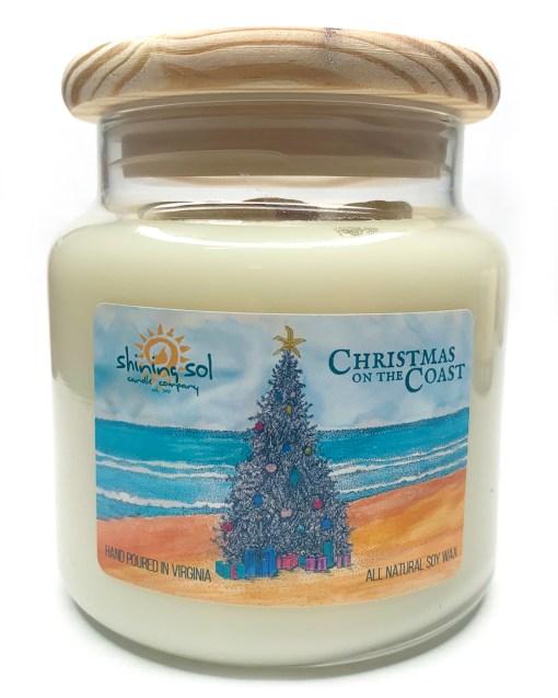Christmas on the Coast - Large Jar Candle