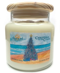 Christmas on the Coast - Large Jar Candle