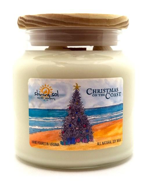 Christmas on the Coast -Large Jar