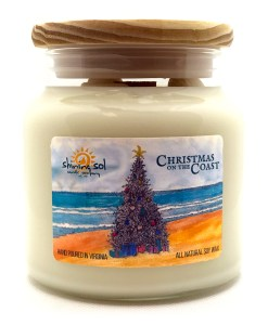 Christmas on the Coast -Large Jar