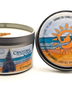 Christmas on the Coast - Large Tin
