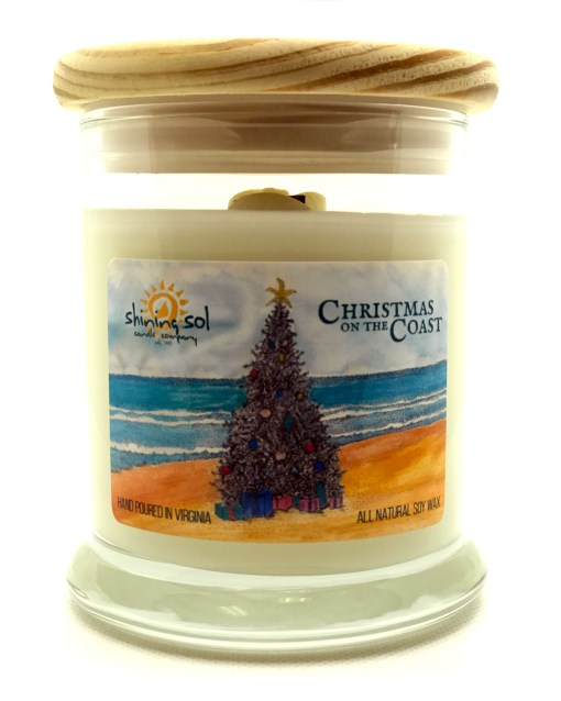 Christmas on the Coast - Medium Jar