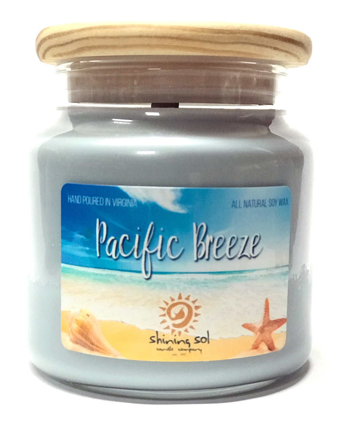 Pacific Breeze - Large Jar Candle