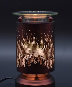 Flames Copper Touch Warmer
