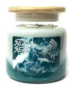 Stormy Seas - Large Jar Candle