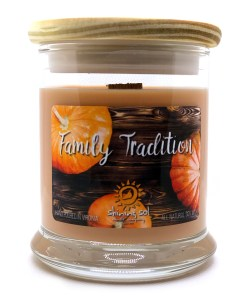 Family Tradition - Medium Jar Candle