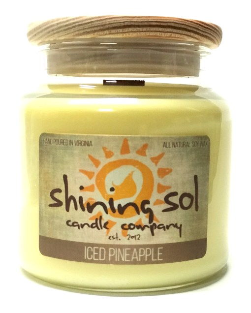 Iced Pineapple - Large Jar Candle