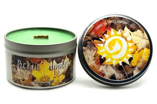 Pickin Apples - Large Tin