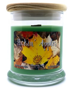 Pickin Apples - Medium Jar Candle