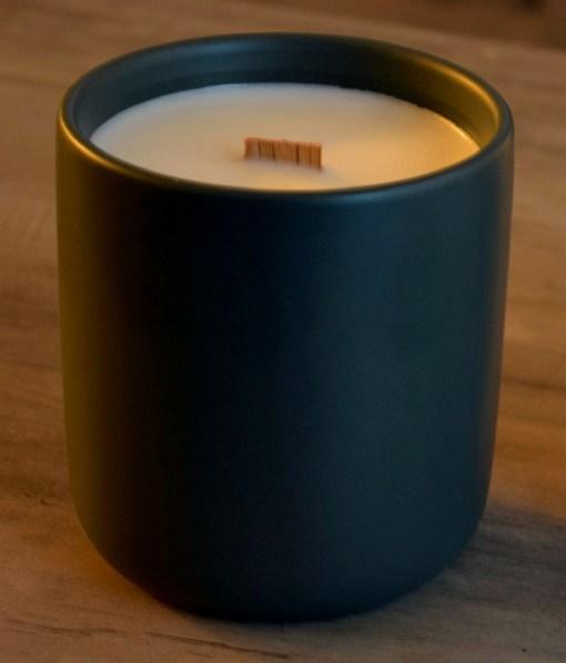 Ceramic Tumblers - Charcoal Grey